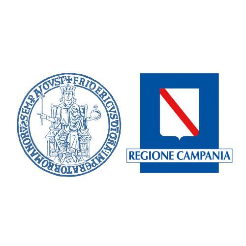 logo unina e regione campania - portfolio piano alto