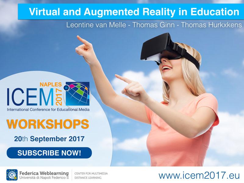 cartolina icem 2017 workshops - federica weblearning