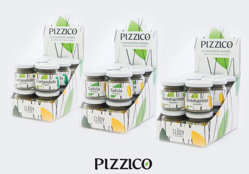 espositori pizzico erbe aromatiche - piano alto