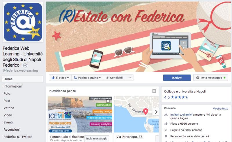 facebook page federica.eu - piano alto