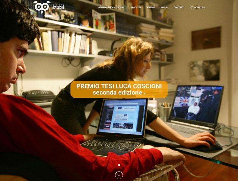 sito web istituto luca coscioni - piano alto
