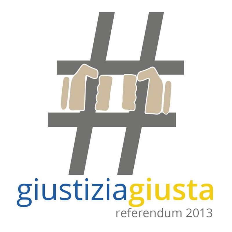 logo referendum giustizia giusta 2013 - piano alto