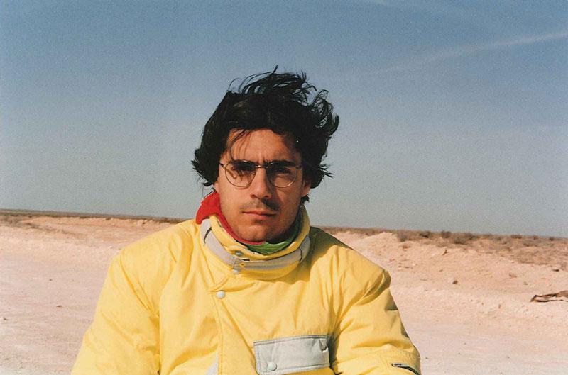 foto luca coscioni nel deserto - piano alto