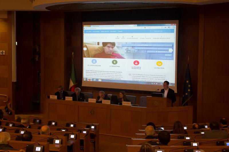 presentazione camera deputati lucacoscioni.it - piano alto