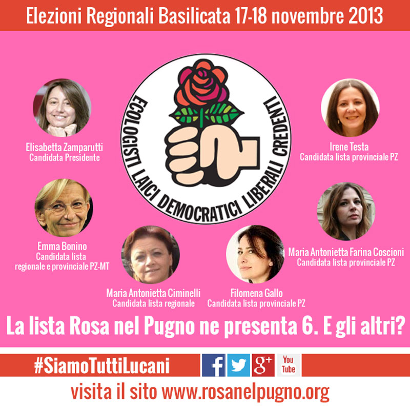 cartolina facebook quote rosa regionali basilicata - piano alto