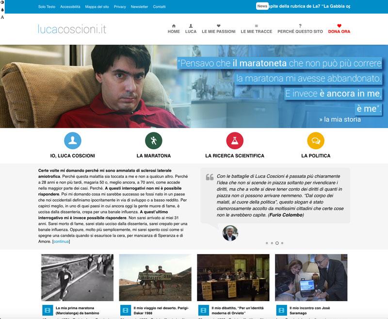 sito web lucacoscioni.it - piano alto