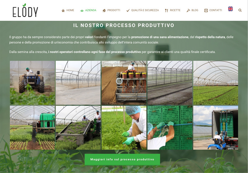 processo produttivo azienda agricola elody - piano alto